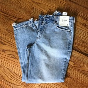 Abercrombie The Mom Jean NWT
